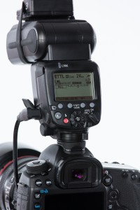 """My on-camera flash is set as the """"Master Flash"""" and to HSS in order to control the OCFs and allow them to maintain HSS if necessary."""